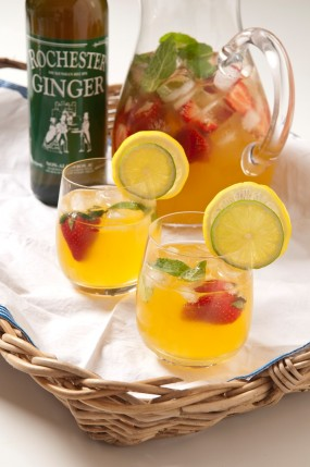 Recept - Rochester Ginger drink