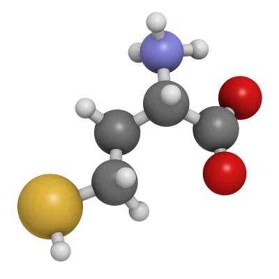 homocystein molekula