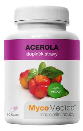 Acerola kapsle mycomedica