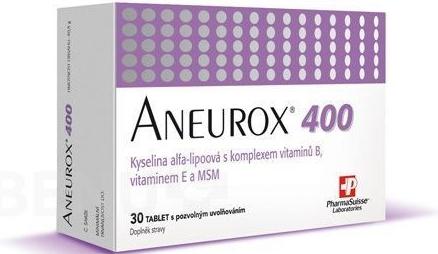 6f4b8e064 Aneurox 400 30 tablet - Přírodní lékárna