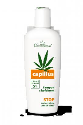 Cannaderm Capillus šampon s kofeinem