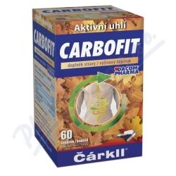CARBOFIT aktivované rostlinné uhlí 60 tob
