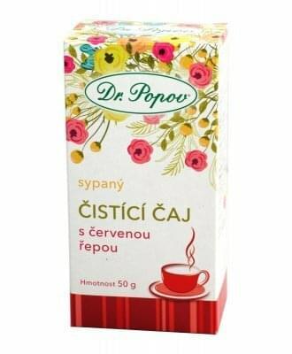 Čistící čaj s červenou řepou 50 g