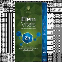 Zinek ElemVitals 60 cps