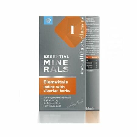 ElemVitals Iodine 60 kapslí