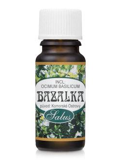 Esenciální olej BAZALKA Saloos 10 ml