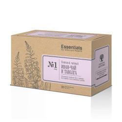 Essentials čaj pro odvodnění a  pročištění 20 sáčků