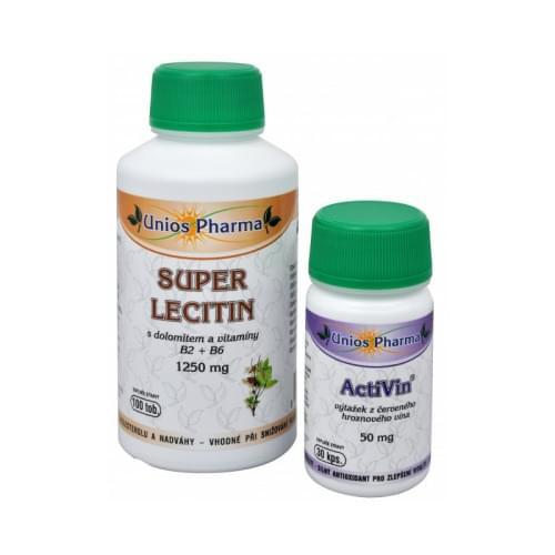Super Lecitin s dolomitem a vitaminy B2 + B6  a  Activin