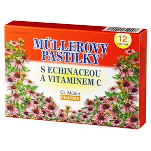 Müllerovy pastilky + echinacea