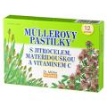 Müllerovy pastilky s jitrocelem, materidouskou a vitaminem C