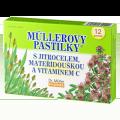 Müllerovy pastilky s jitrocelem, mateřídouškou a vitaminem C
