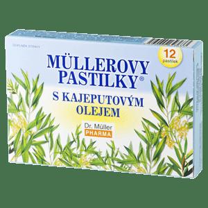 Müllerovy pastilky s kajeputovým olejem
