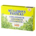Müllerovy pastilky s islandským lišejníkem a vitamínem C