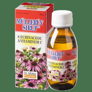 Müllerův sirup s echinaceou a vitamínem C