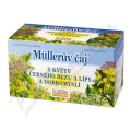 Müllerův čaj s květy černého bezu a lípy a dobromyslí