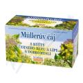 Müllerův čaj s květy černého bezu, lípy a dobromyslí