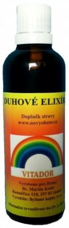 Duhové elixíry - VITADOR 50 ml