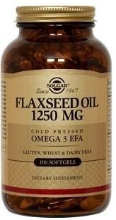 Lněný olej 100 kapslí