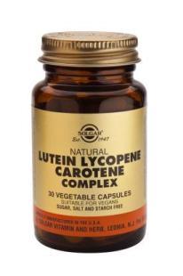 Lutein, Lykopen, Karoten komplex