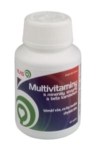 Multivitaminy s mineraly, enzymy a beta karotenem
