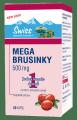 SWISS MEGA brusinky 50 kapslí + 10 kapslí zdarma