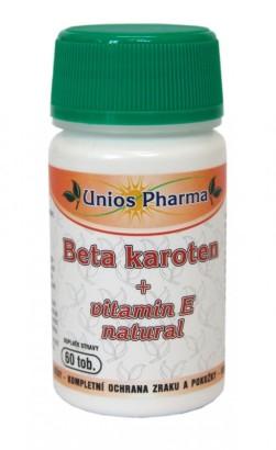 Beta karoten + vitamin E 60 ks
