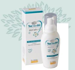 Tea Tree Oil mycí pěna pro intimní hygienu