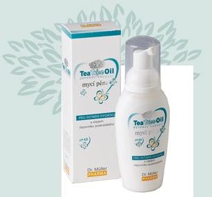 Tea Tree Oil myci pena