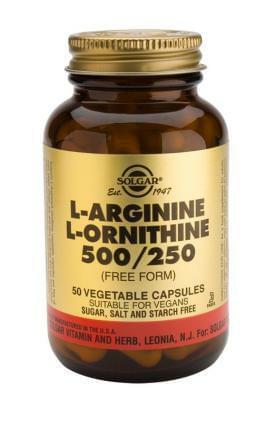 L-Arginine a L-Ornithine