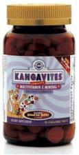 KANGAVITES Multivitaminy a minerály pro děti 60 tbl
