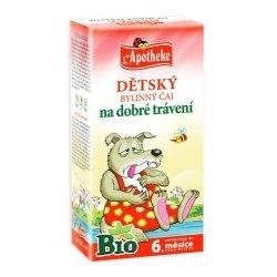 Apotheke Dětský bylinný čaj na dobré trávení