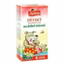 Dětský bylinný čaj na dobré trávení 20 sáčků