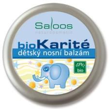 Saloos Bio Karité dětský nosní balzám 19 ml