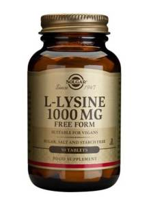 L-Lysine 1000mg (SOLGAR)