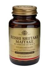Reishi, Shiitake, Maitake (SOLGAR)