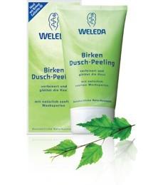 WELEDA Březový sprchový peeling