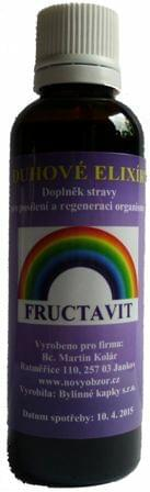 Duhové elixíry - FRUCTAVIT 50 ml