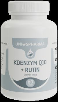 Koenzym Q10 + Rutin 60 cps