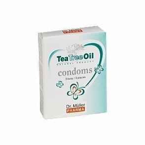 Kondomy s TTO (3 ks v balení)