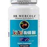 Kril olej pro děti (Krill oil - 60 cps)