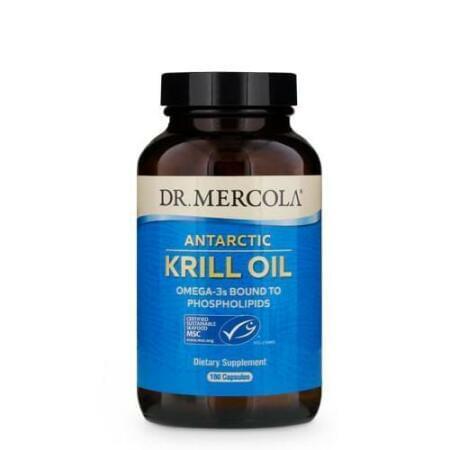 Kril olej pro dospělé (Krill oil - 180 cps)