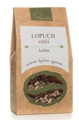 Lopuch_koren_caj