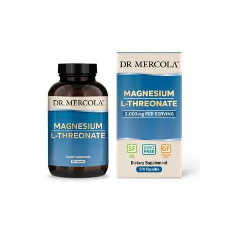 Magnesium treonát 270 kapslí