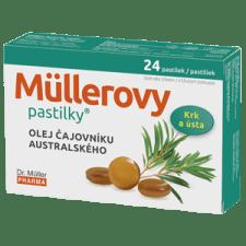 Müllerovy pastilky s tea tree 24 pastilek