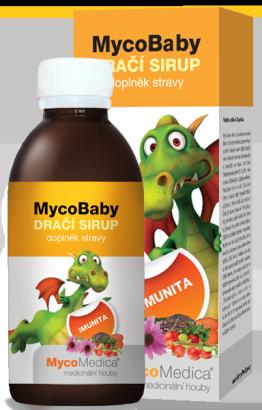 MycoBaby draci sirup