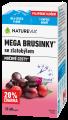 NatureVia mega brusinky 50+20 kapslí zdarma