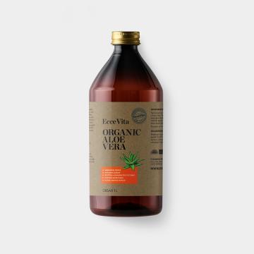 Organic aloe vera ecce vita