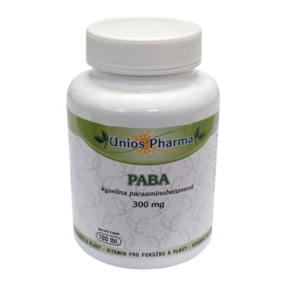PABA kyselina paraaminobenzoova