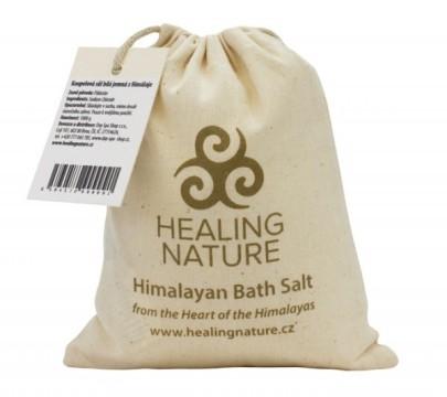 Himalájská koupelová sůl jemná bílá 1 kg