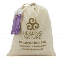 Himalájská koupelová sůl s květem levandule 1 kg